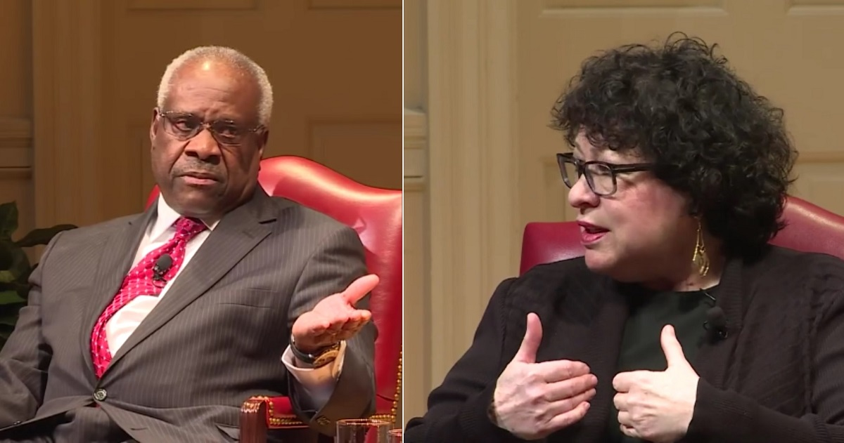 Listen to Sonia Sotomayor Shut Down Clarence Thomas Question in Supreme Court Case on Racist Jury Selection