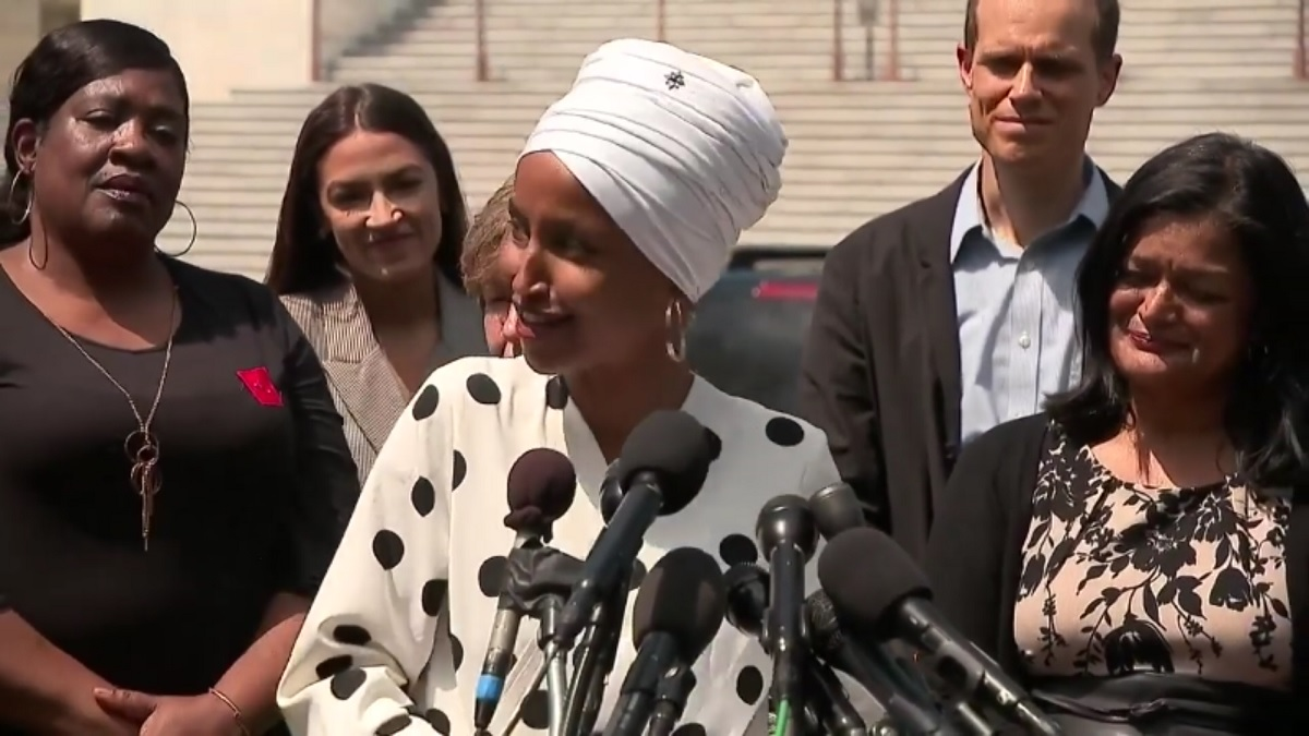 Ilhan Omar Says Bernie's Student Debt Bill Isn't Giveaway to Rich Because Trump's Kids Aren't Taking Student Loans