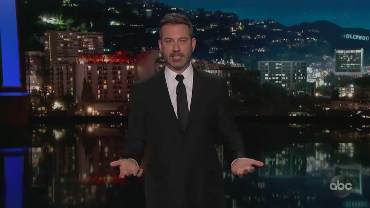 Capitol Safe Space? Jimmy Kimmel Mocks House GOP's List of Banned Words to Describe Trump