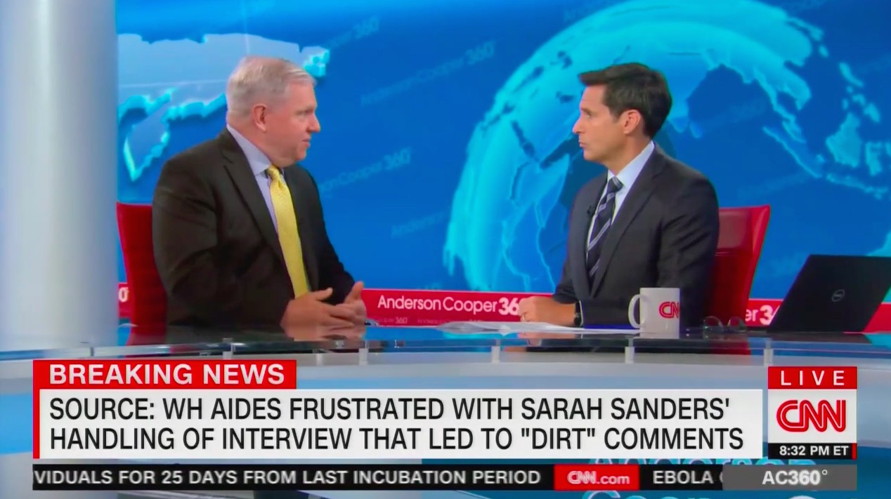 Former Clinton Press Sec on WH Replacing Sarah Sanders: 'If Lying Is Acceptable,' Trump Can 'Be His Own Press Secretary'
