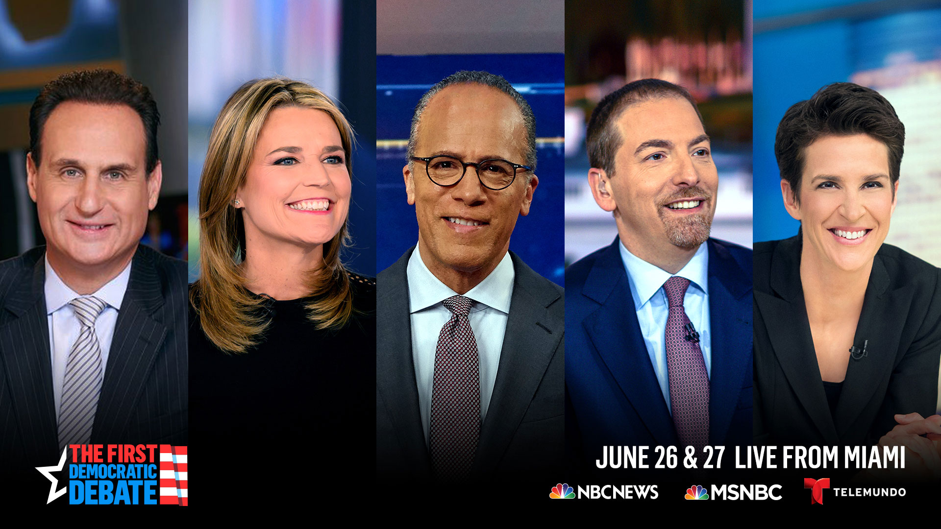 NBC Unveils Debate Lineups, And There's a Group of Death: Biden. Bernie. Buttigieg. Harris
