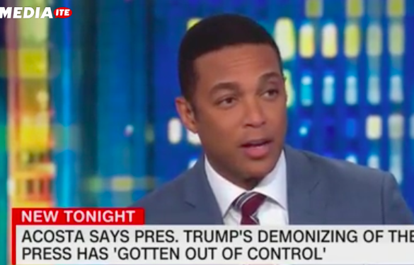 Don Lemon and Jim Acosta Insist CNN Isn't Anti-Trump or Pro-Democrat: We 'Hold Their Feet to the Fire'