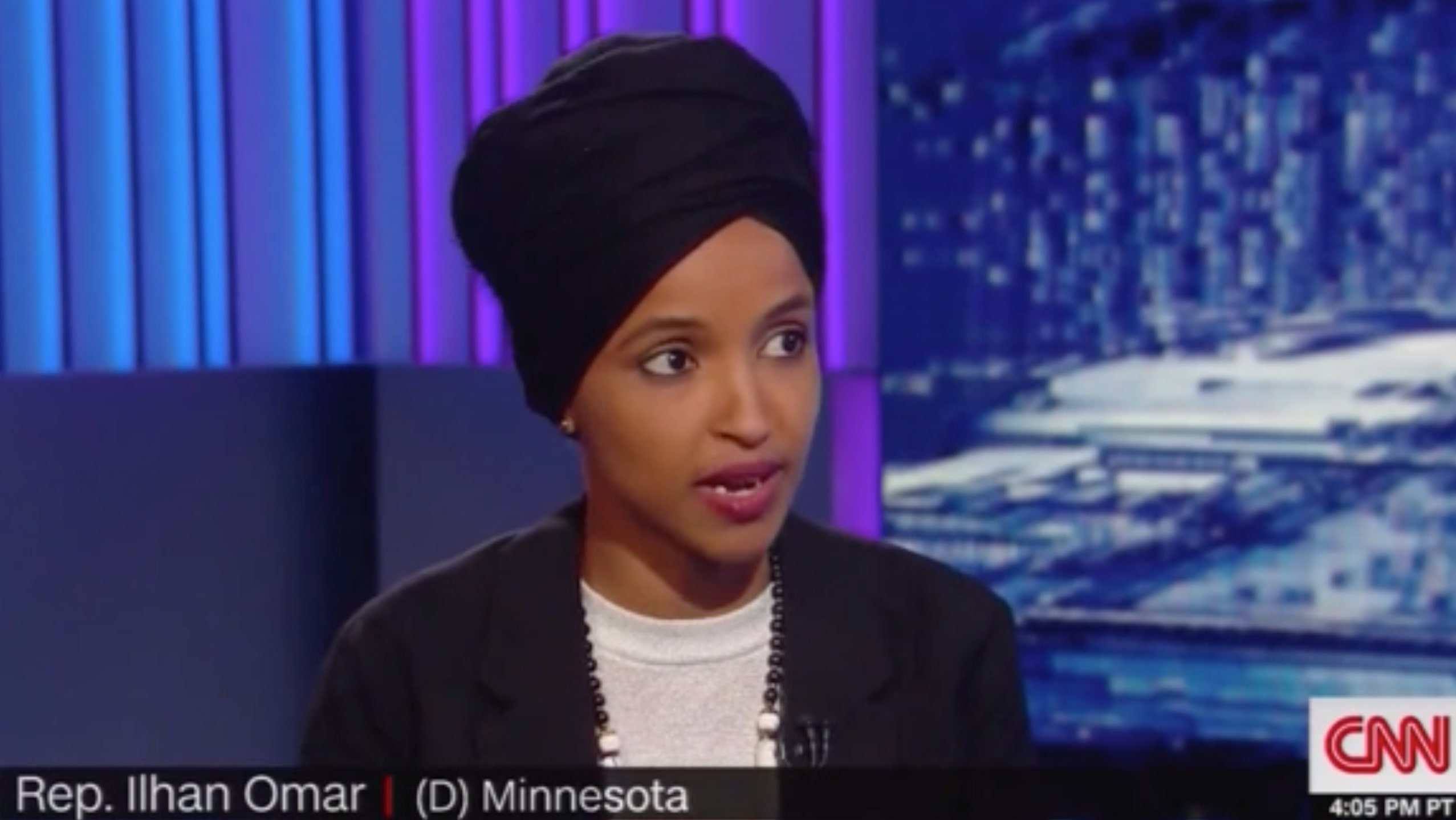 Rep. Ilhan Omar Laughs at Trump's Fluster on Foreign Dirt Comments: 'Like When Your Child is in Trouble'