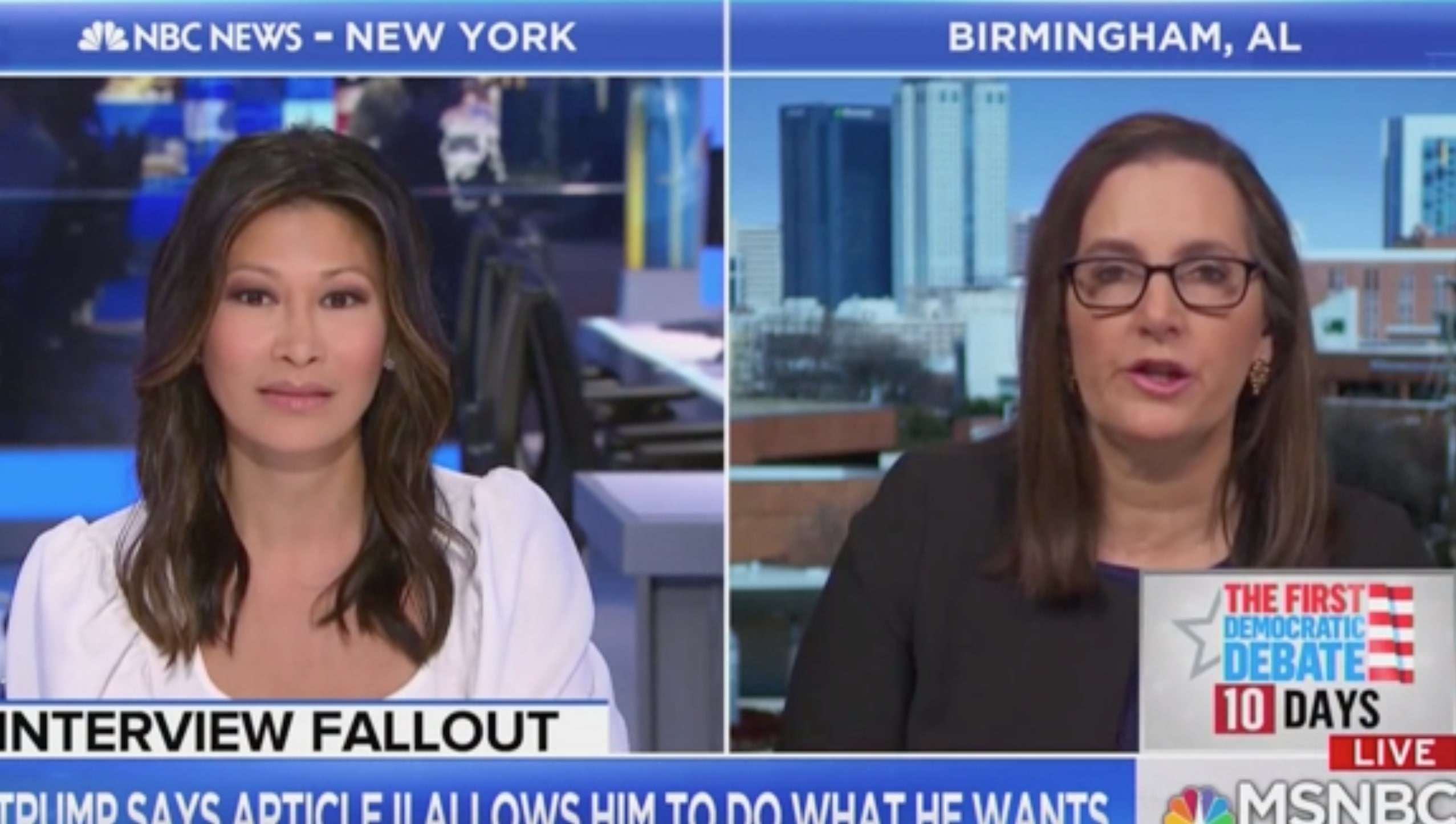 Former US Attorney Joyce Vance Slaps Down Trump Claim He Can Do Whatever He Wants: 'His Power is Not Limitless'