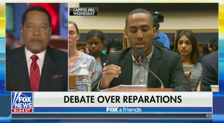 Fox & Friends Guest Larry Elder Claims Republicans Didn't Own Slaves