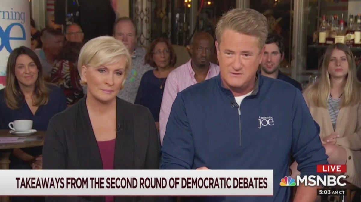 Joe Scarborough Fumes Over Democratic Debate