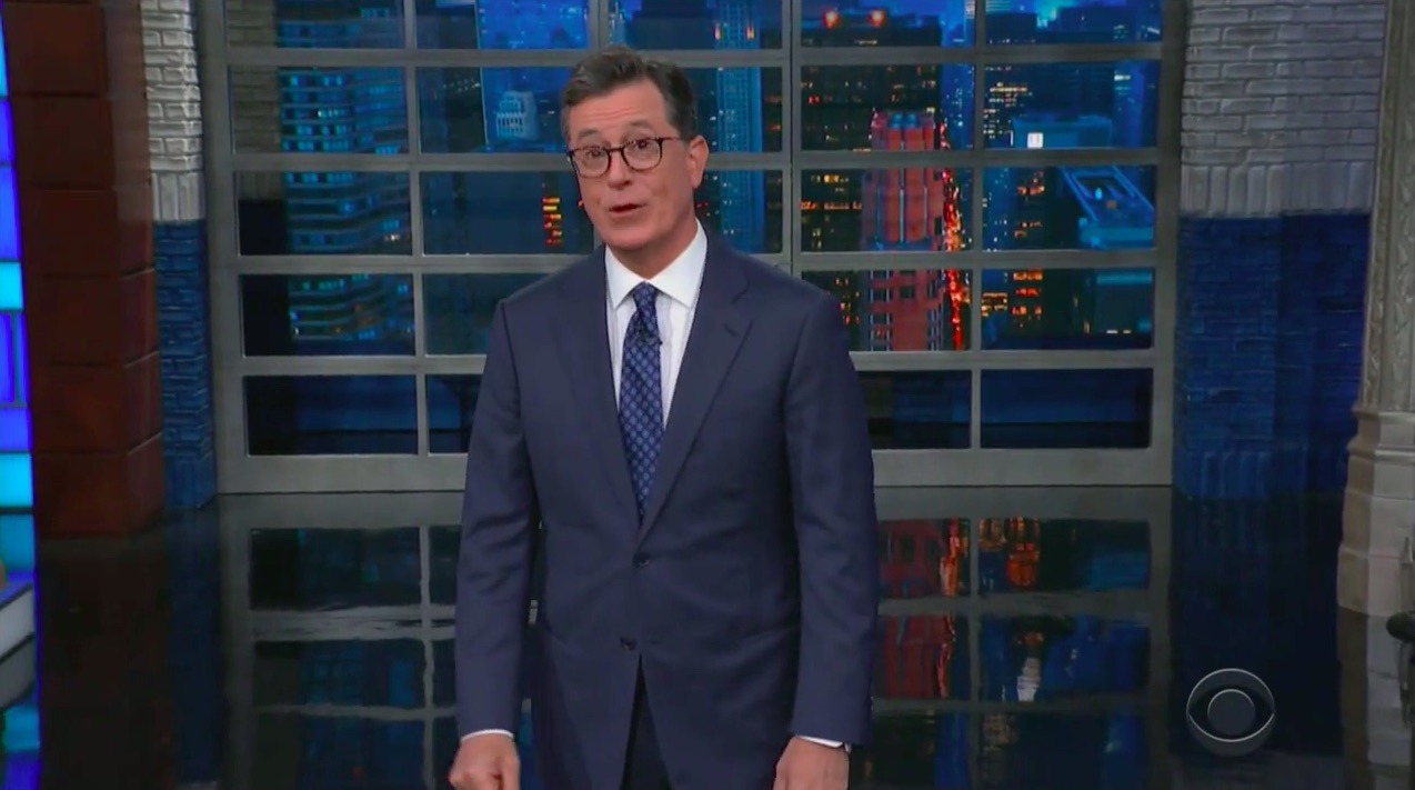 Stephen Colbert Parodies Trump Administration's 'Inhumane' Border Conditions for Detained Immigrants: 'Mi Squalor Es Su Squalor'