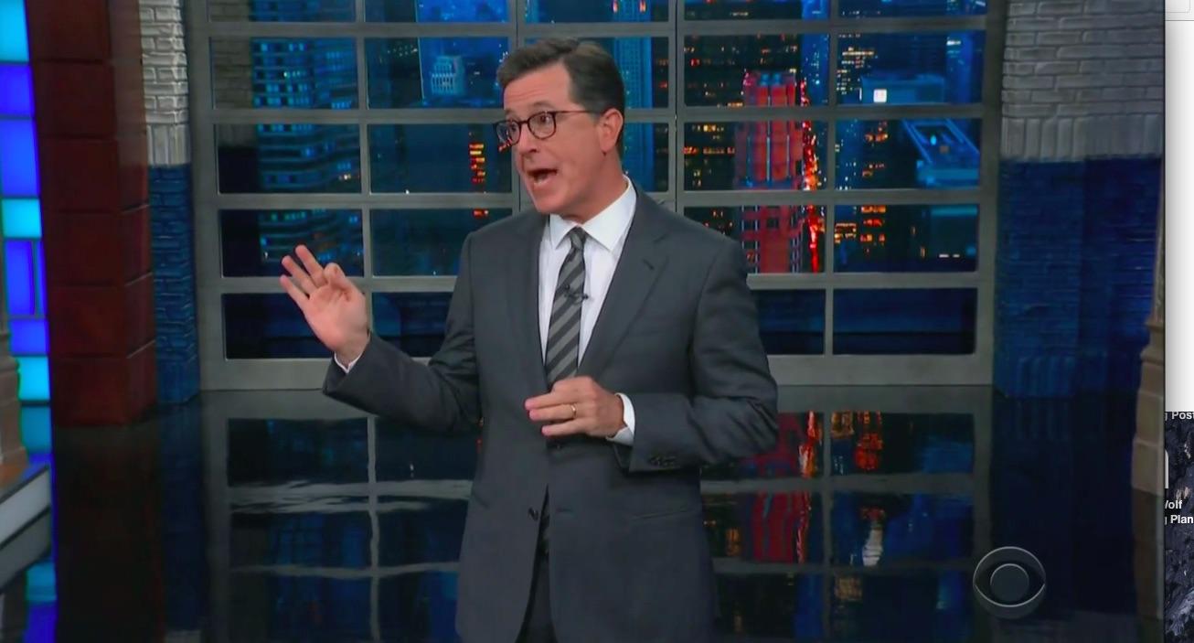 Stephen Colbert Parodies Trump's Over-The-Top Mexico Tariff Threats: 'Cinco de Mayo is Going to be Ten-o de Mayo!'