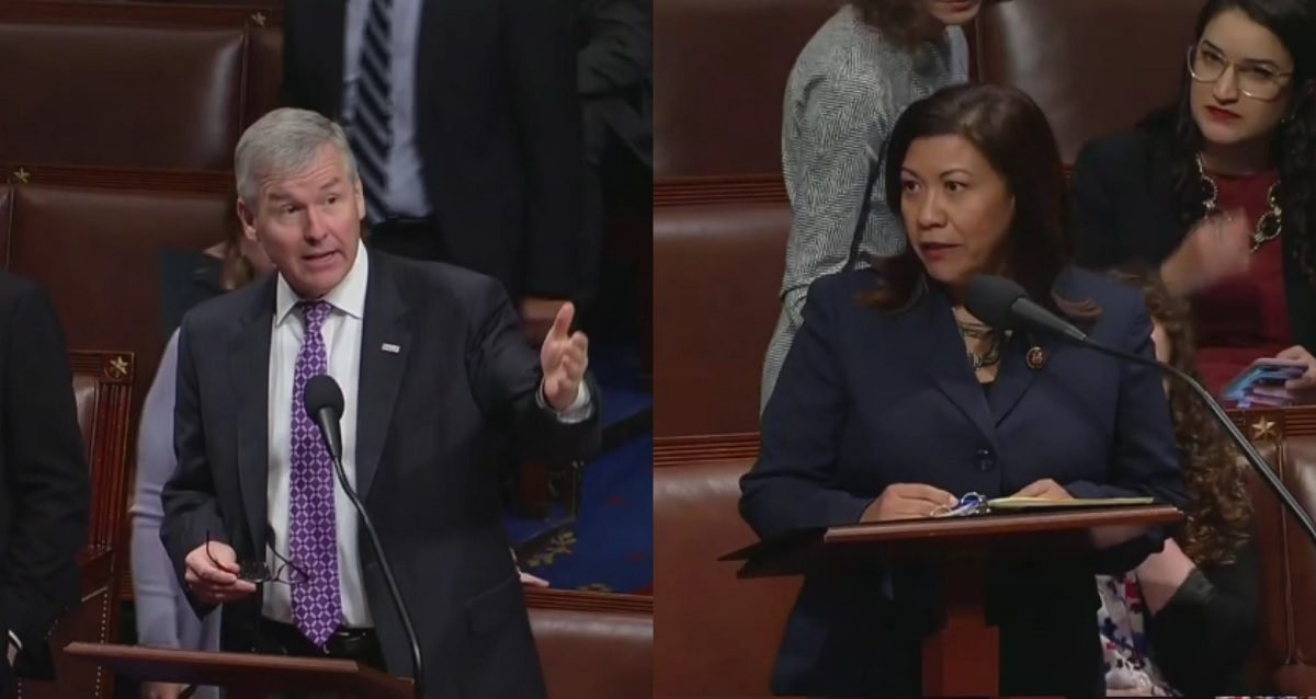 WATCH: House Erupts as Democratic Congresswoman Slams 'Sex-Starved Males' Talking About Abortion Rights