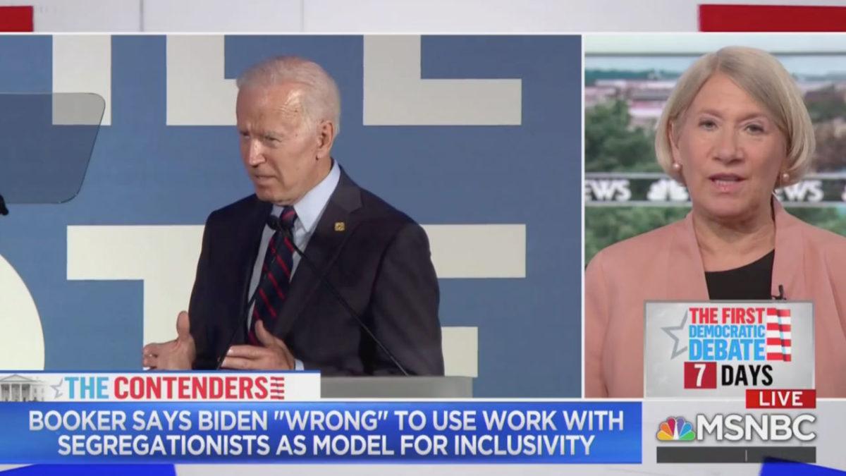 Biden Camp Surrogate Defends Remarks on Segregationists: Booker, Warren Have Touted Work With GOP Senators