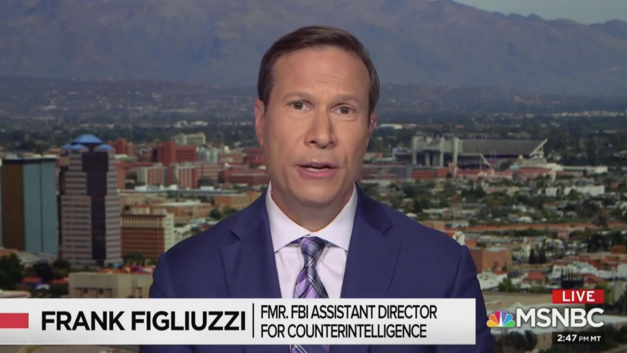 Ex-FBI Official on MSNBC: Trump 'Envies' Dictators Like Putin Because They 'Control the Press'
