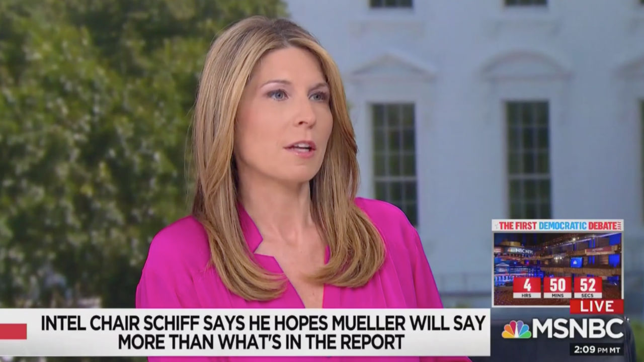 Nicolle Wallace: Mueller Hearing Will Get 'Really Ugly,' I Checked the Fox News Website…