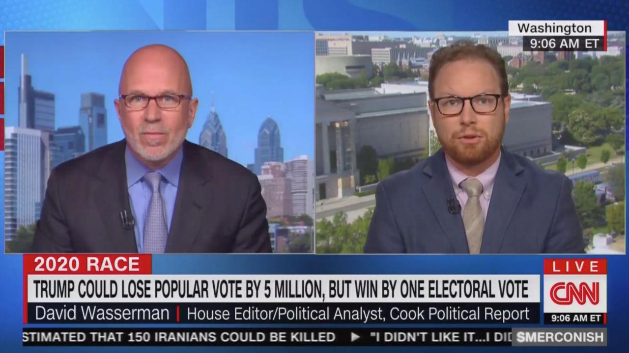 CNN's Smerconish Looks at Scenario Where Trump Loses 2020 Popular Vote by 5 Million –– But Still Wins