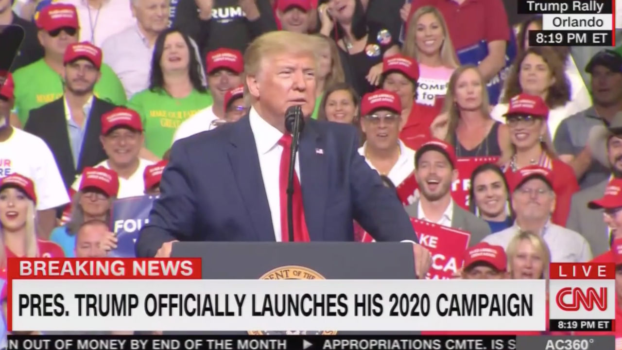 Image result for photos of trump at rally