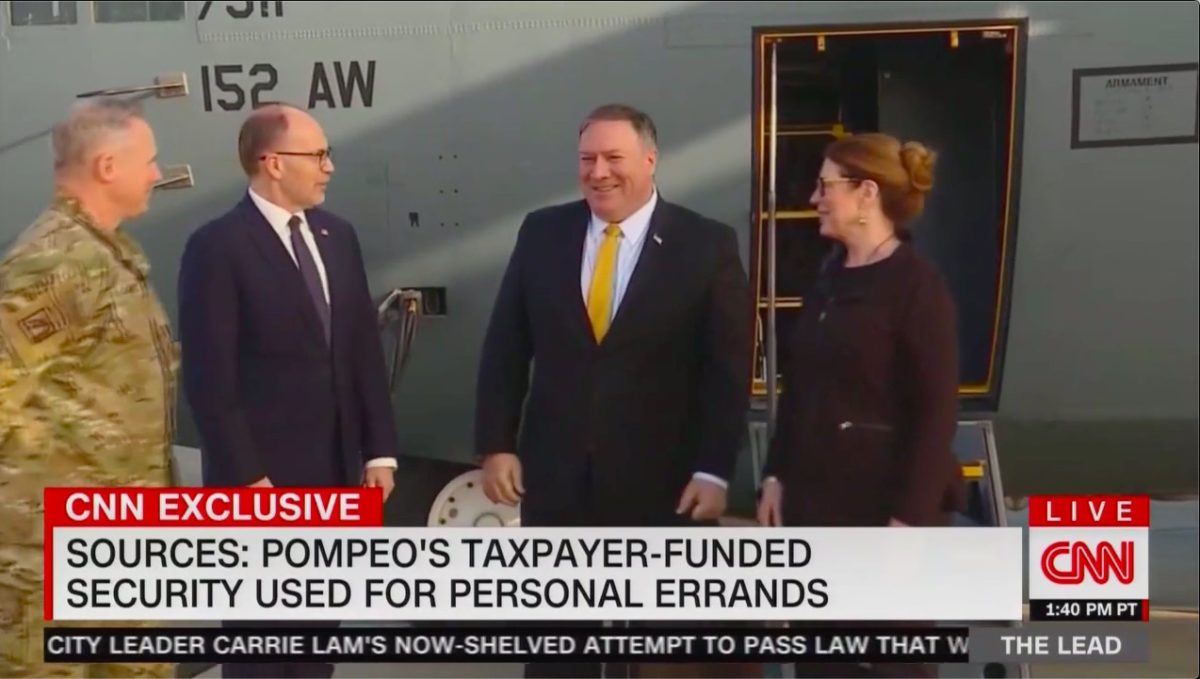 Dems Investigating Whistleblower Claims Sec of State Pompeo Misused Security Detail: 'Uber Eats with Guns'