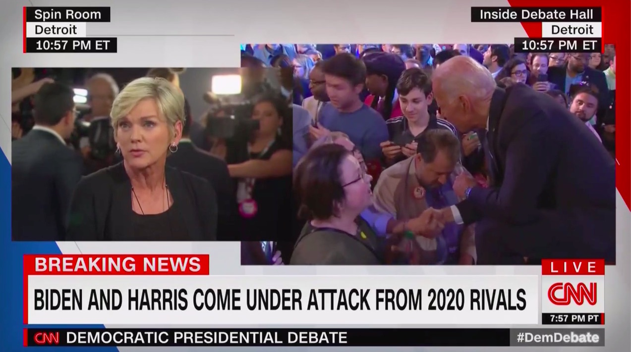 CNN Contributor Who Prepped Biden for Last Debate Fawns Over Candidate's Rocky Performance in This Debate