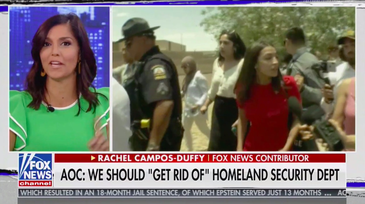Fox News Contributor: 'You Have to Wonder' if AOC Is Working for Terrorists, Sex Traffickers and Drug Cartels