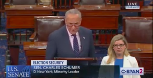Chuck Schumer Defends Fox News from Trump Attacks: 'Dictators Try to Shut Down the Press'