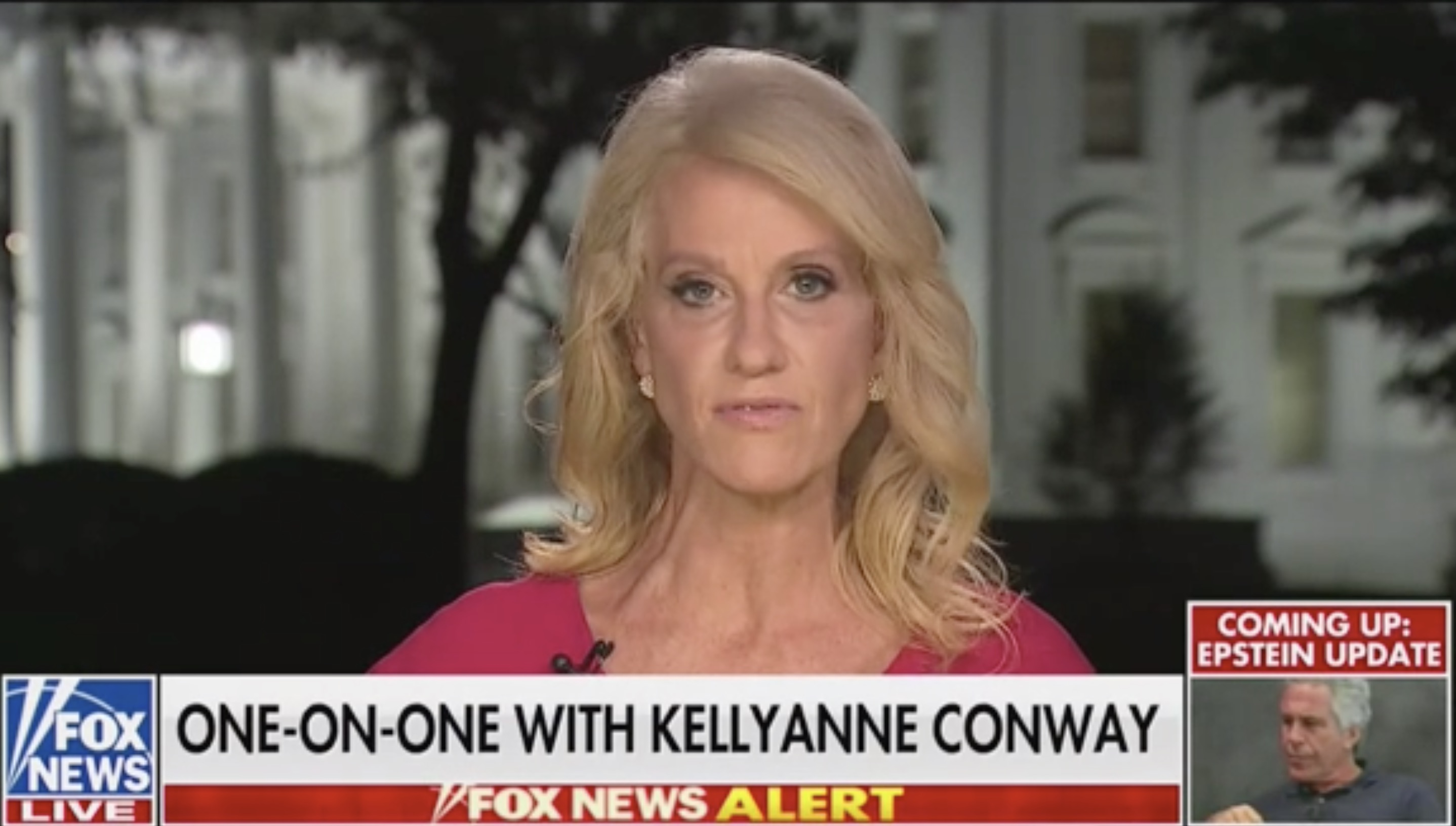 Kellyanne Conway Says She's Not Worried About Defying Congressional Subpoena: 'I've Done Nothing Wrong'