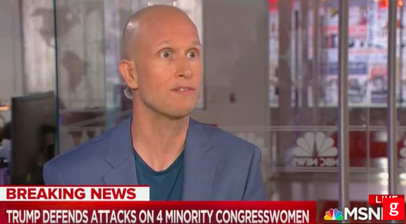 MSNBC Guest: Trump Is 'More Racist Than Neo-Nazis'
