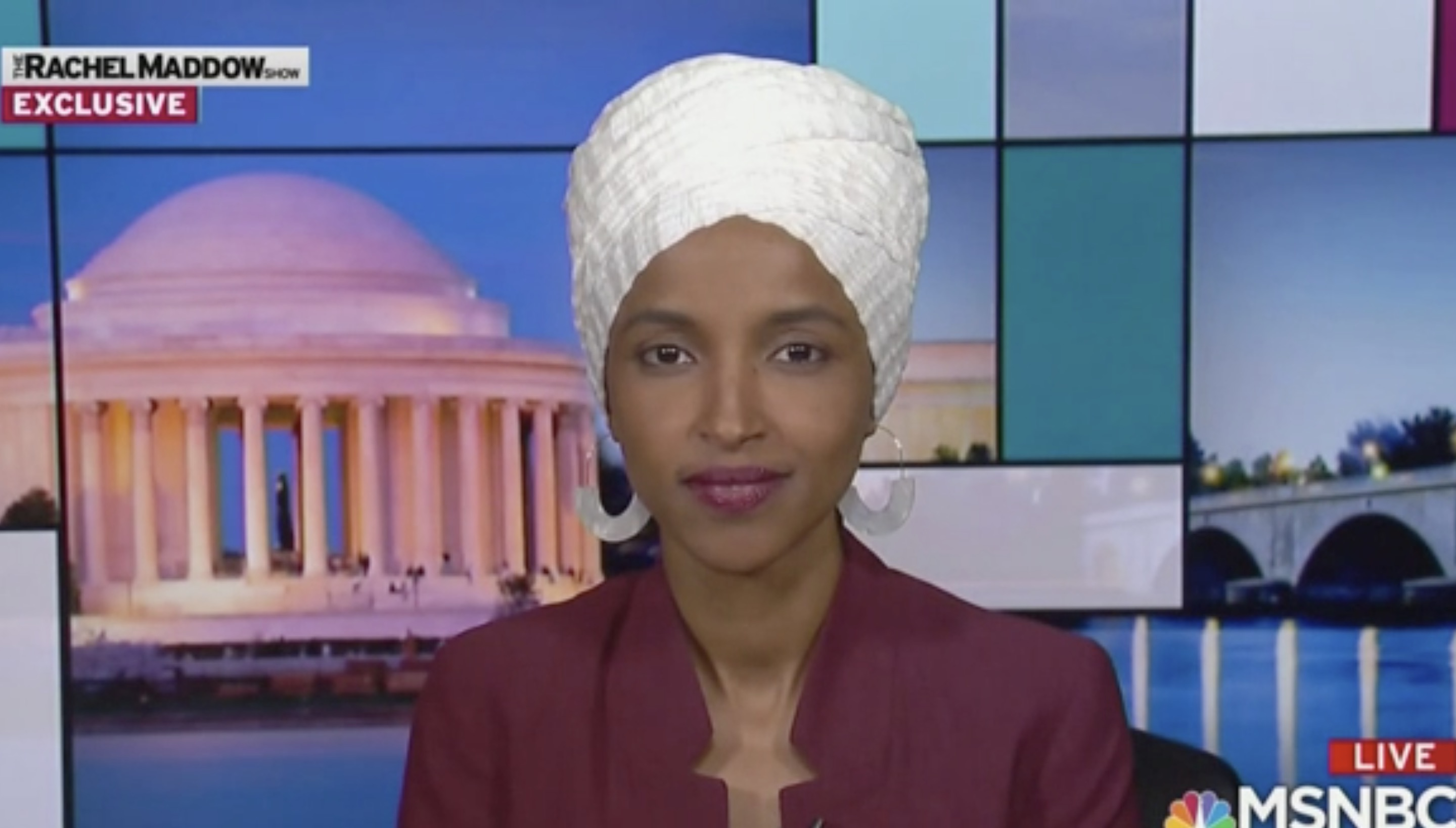 Ilhan Omar Responds to Trump's Attack: 'Does He Know He Is the President of the United States?'