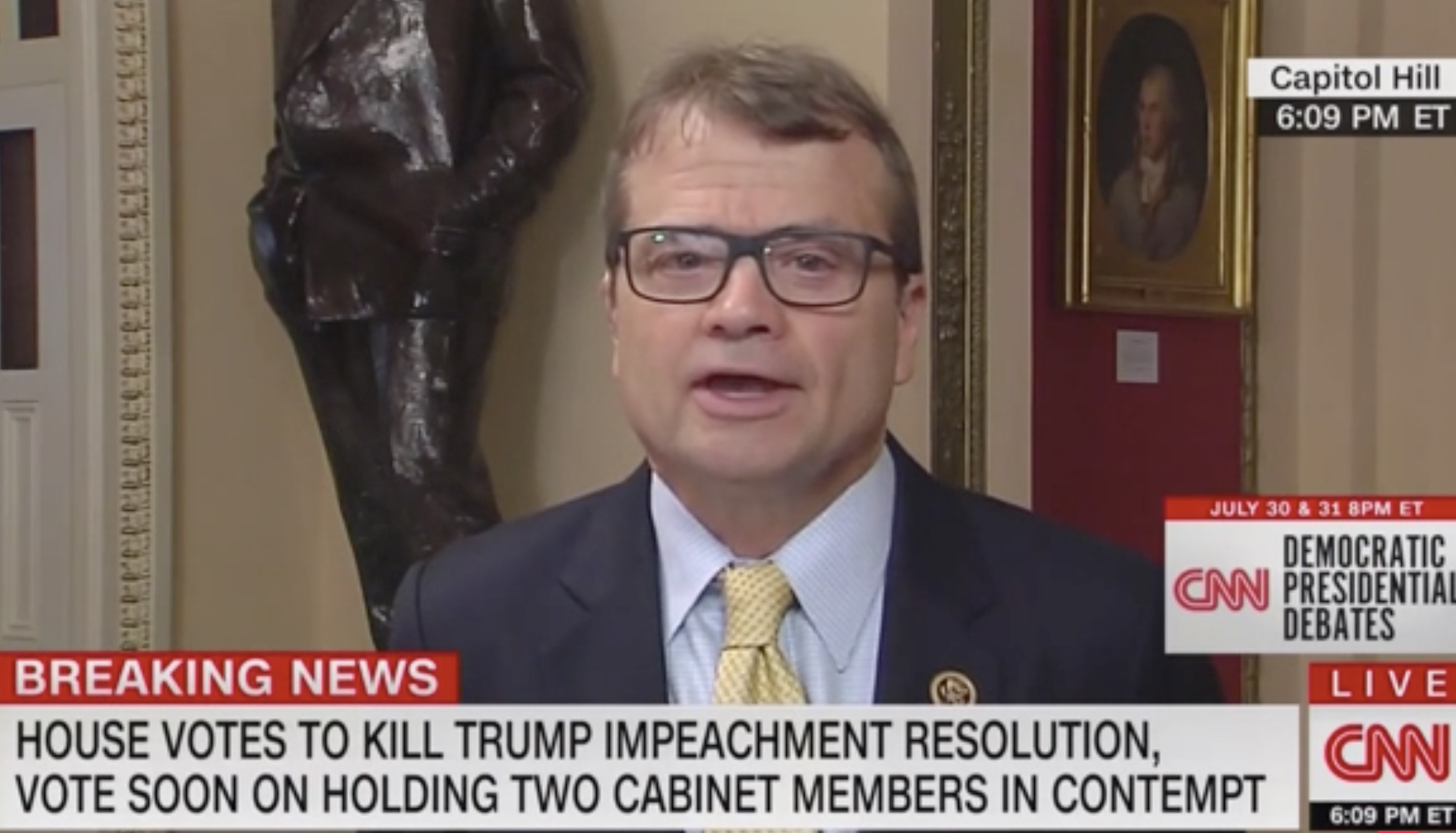 Dem. Rep Sounds Off Trump's Fight With 'Squad': I'm 'Extraordinarily Concerned' About His Mental Health