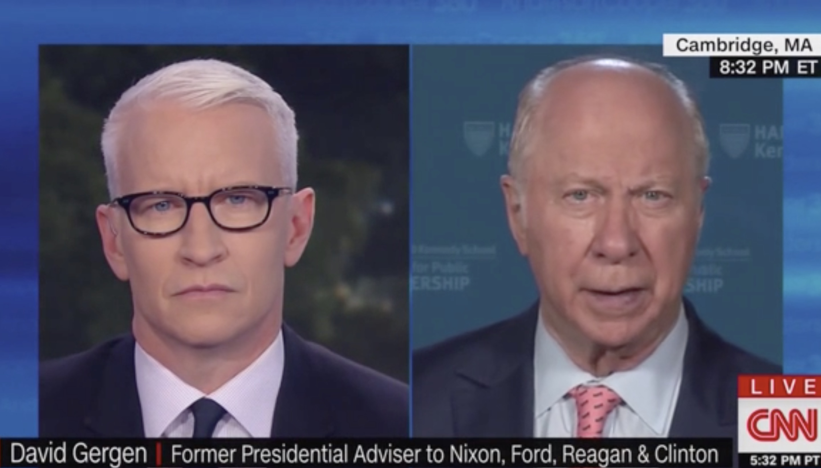CNN's David Gergen Slams Trump After 'Send Her Back' Rally Chant: 'When You Outdo Nixon in Repulsiveness…'