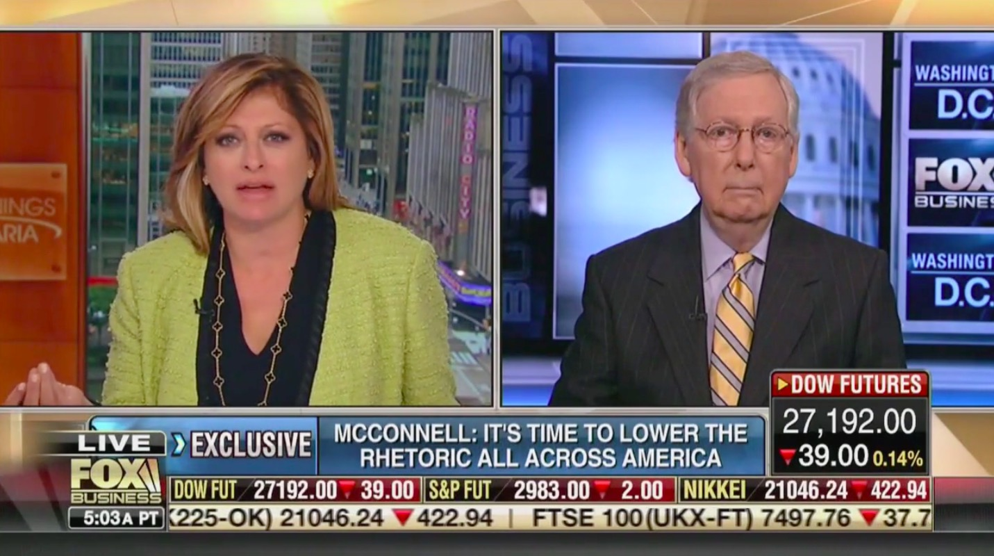 Mitch McConnell Reacts to Trump's Widely Condemned Rally: 'The President's Onto Something'