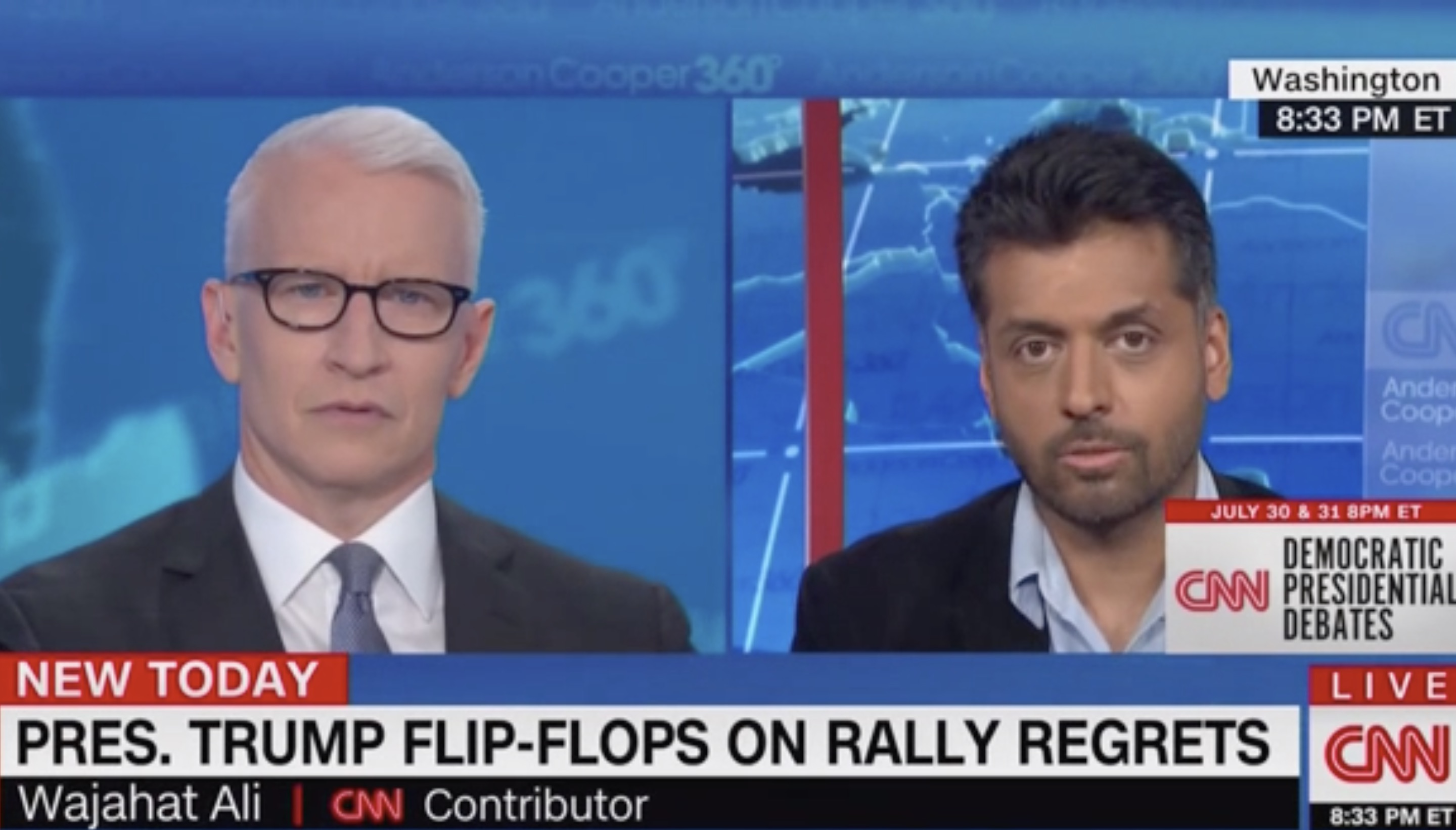 Wajahat Ali Challenges GOP to 'Step Up' to Trump's Racism: We've Reached the 'Crisis Point'