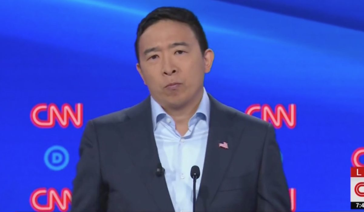 Andrew Yang Torches Reality Tv Show Debate Format
