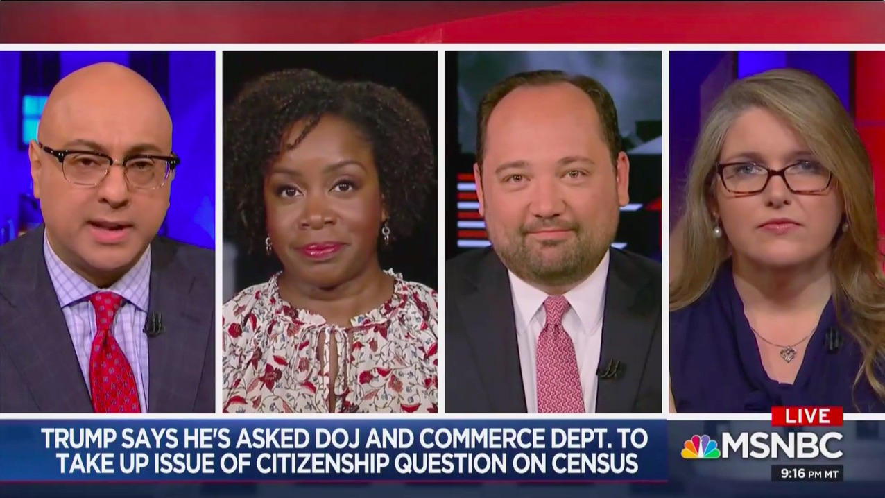 Trump Tweets Try to Spin, Deny Defeat on Census Citizenship Question