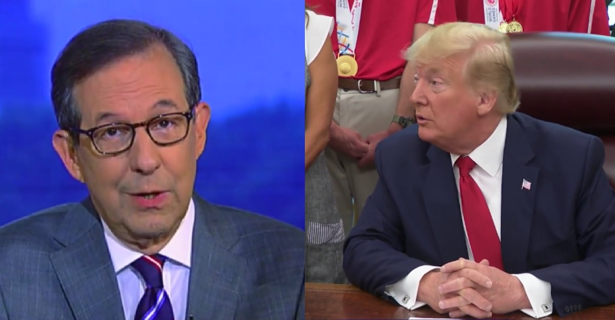 Fox News' Chris Wallace Destroys Trump's False Claims About 'Send Her Back' Chant in 24 Seconds Flat
