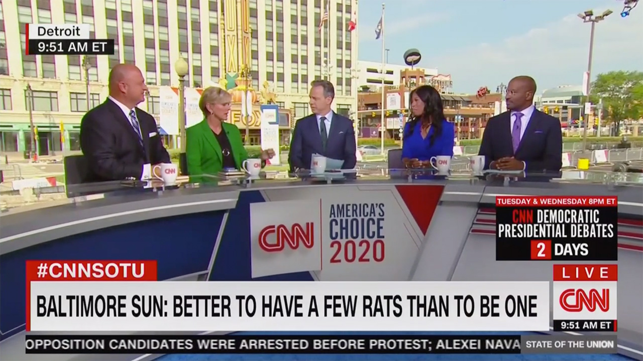 CNN Panel Goes Off Over Trump Attacks: Republicans Who Don't Stand Up Are 'Aiding and Abetting a Racist President'