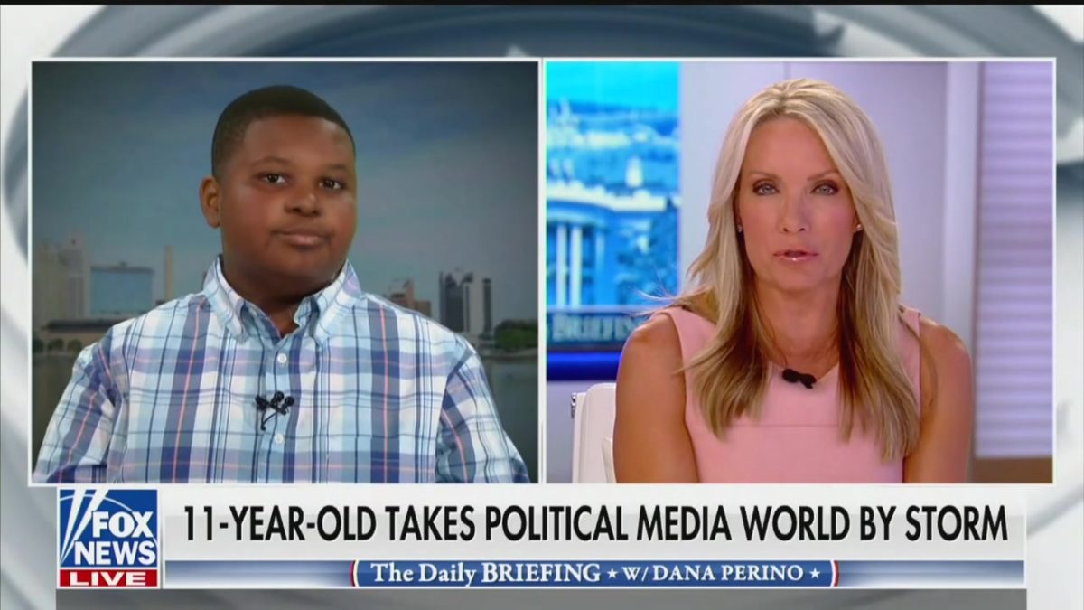 11-Year-Old Reporter Declines to Opine on Marianne Williamson on Fox: 'That's My Journalistic Responsibility'