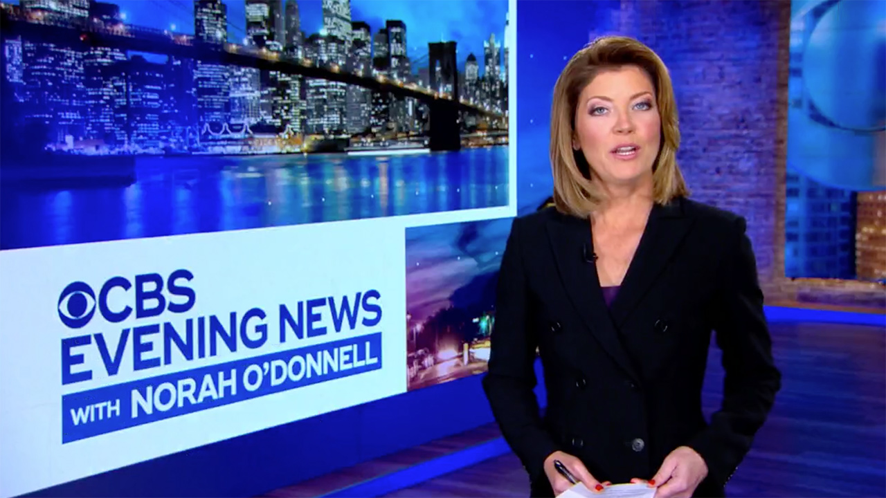 Norah O'Donnell Makes Debut as CBS Evening News Anchor, Calls Trump's Tweets Racist