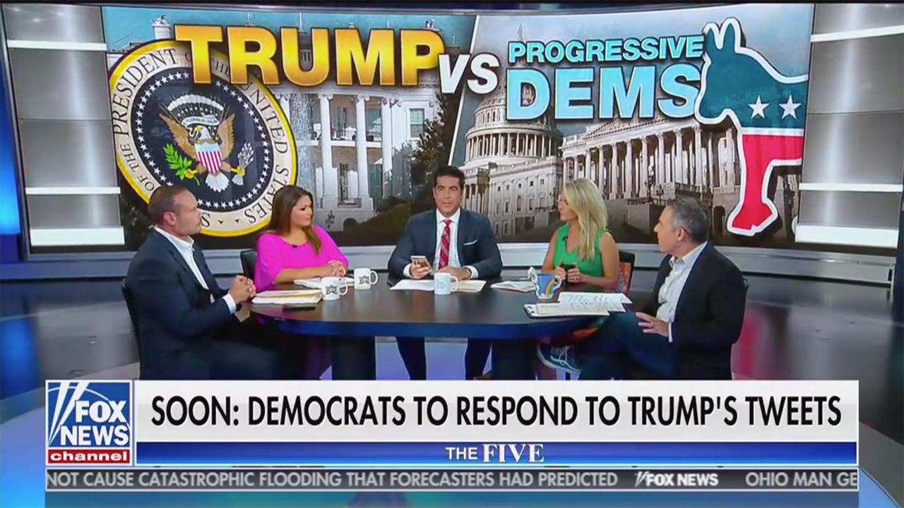Fox Hosts Defend Trump: Trump Tweets Weren't Racist, 'When Did Love It Or Leave It Become Racist?'