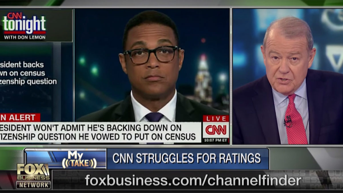 Stuart Varney Knocks 'Hate-Trump' CNN and Don Lemon