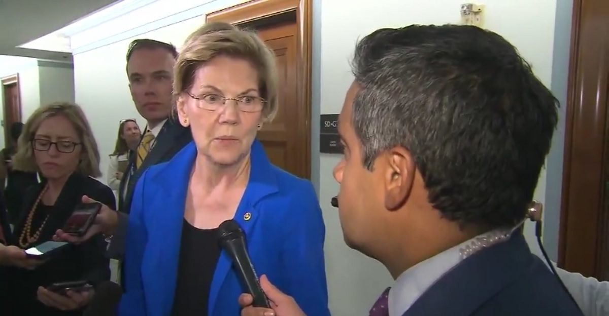 Elizabeth Warren Weirdly Refuses to Call Trump a 'Racist' After Calling Him a Racist Many Times