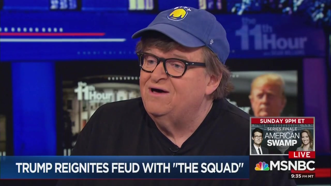 Michael Moore Says He's 'So Glad' Trump and Netanyahu are 'Frightened' By Progressive Democrats