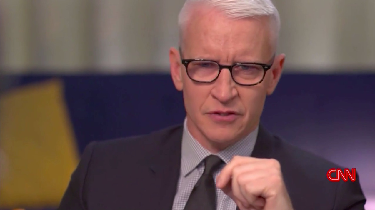 WATCH: Anderson Cooper Moved to Tears During Poignant Discussion About Grief and Suffering with Stephen Colbert