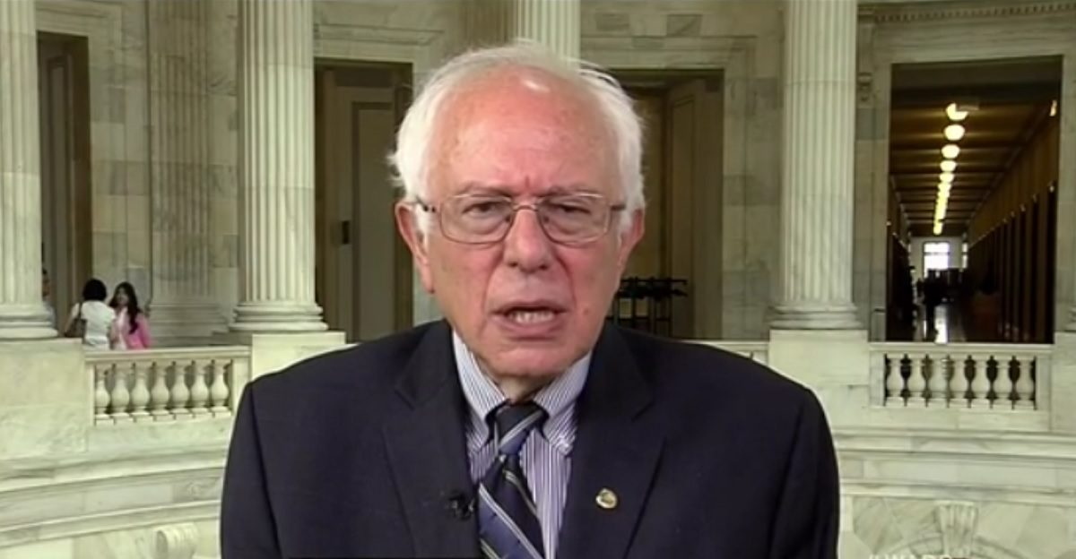 WATCH: Bernie Sanders Was Asked About Income Inequality Despite His Claim 'Not One Reporter' Ever Asked