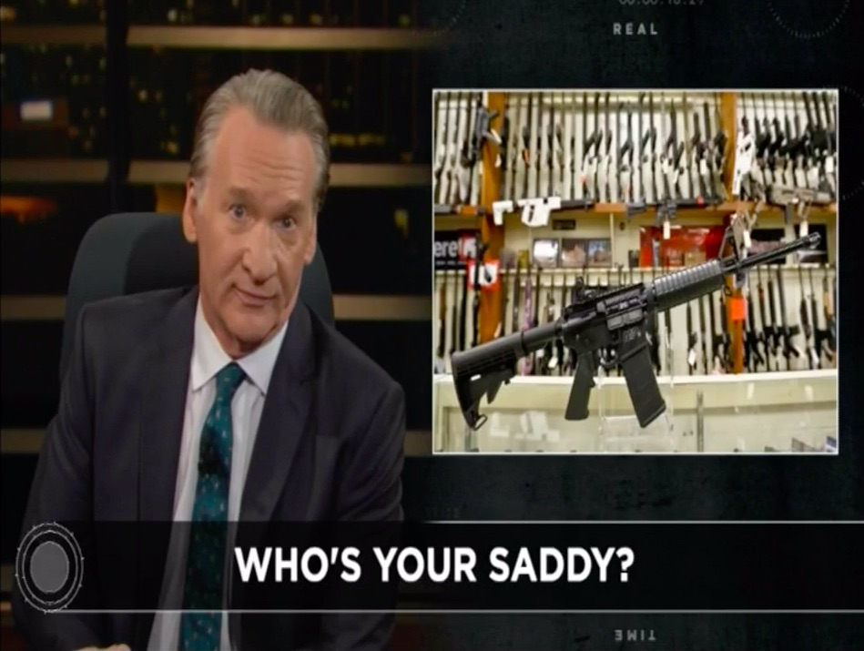 Bill Maher's New Rule on Gun Violence and Internet Culture: 'From Lonely and Sad to Radicalized and Lethal'