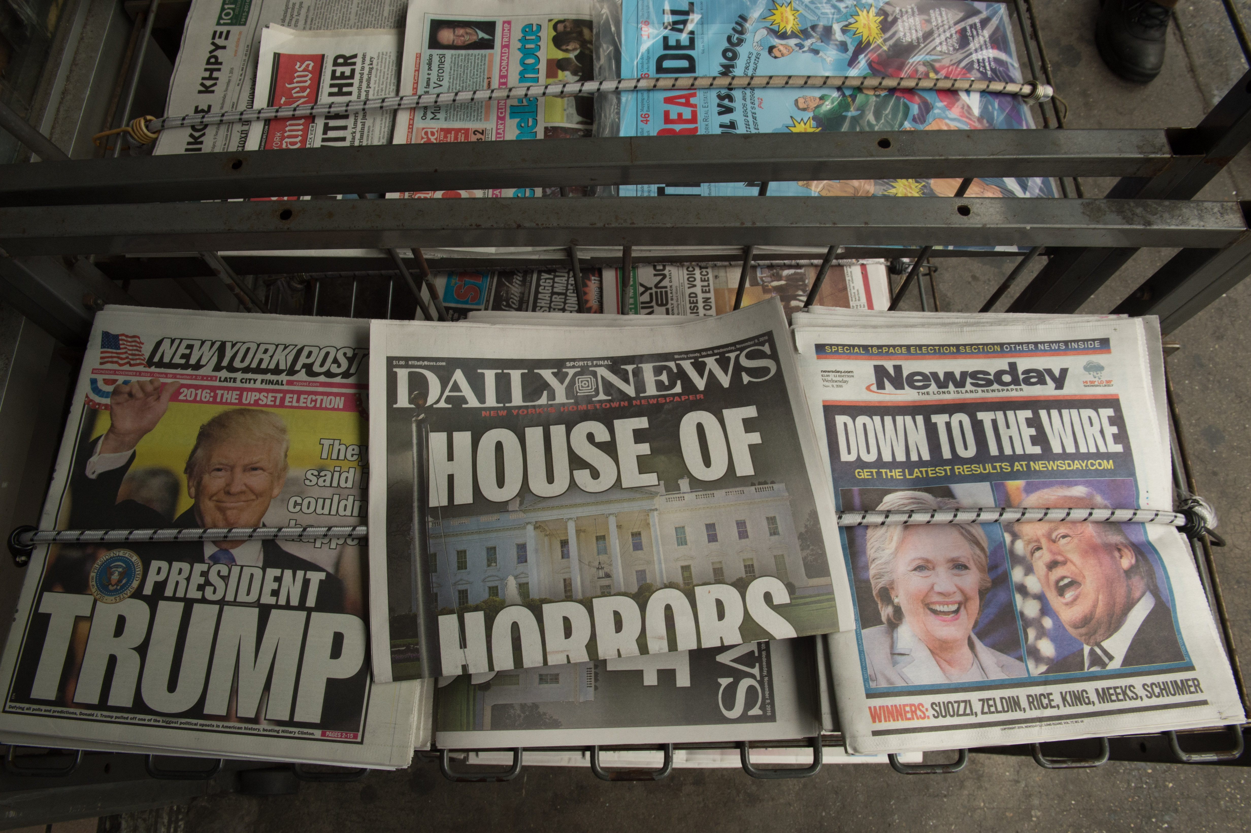 How Media Paved the Way For Trump: The Incredibly Shrinking Print Media
