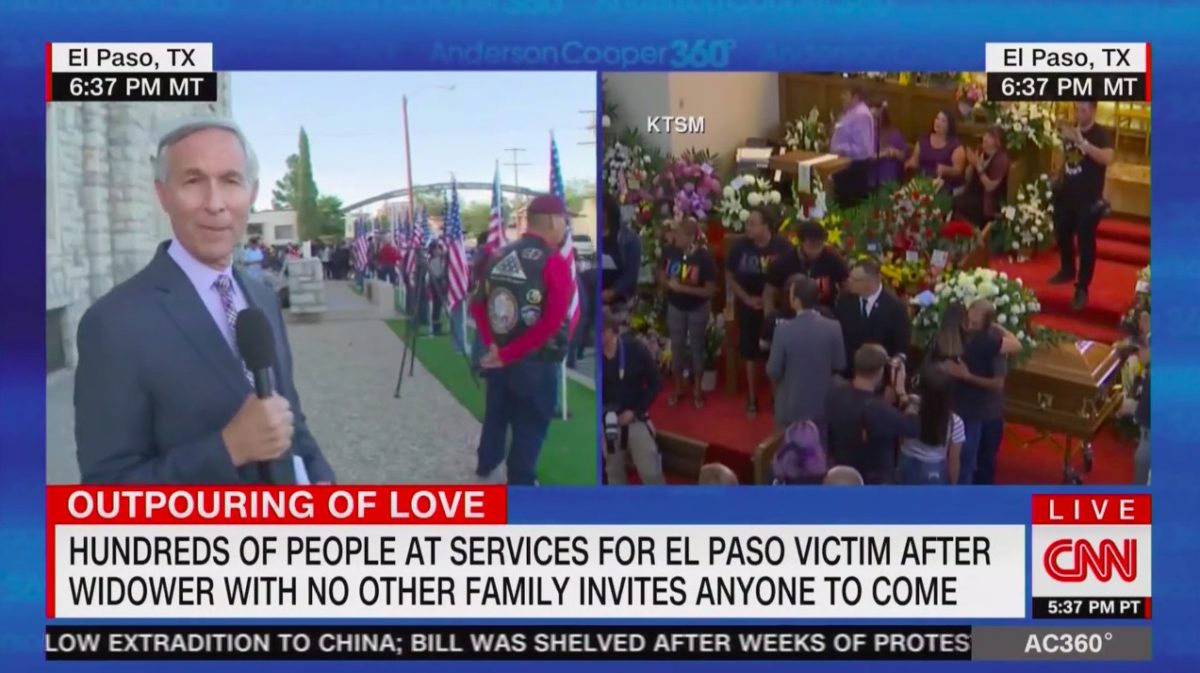 Hundreds of Strangers Show Up at Funeral of El Paso Victim After Husband Extends Open Invite