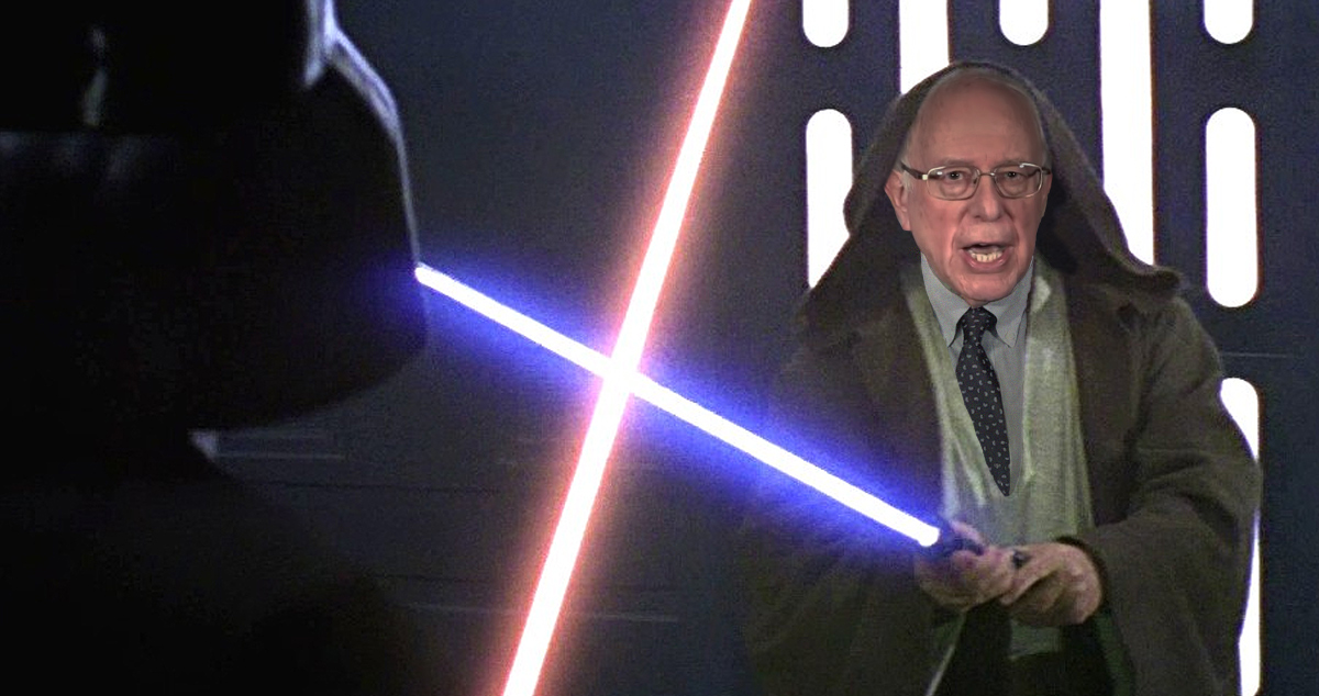 Sanders Campaign Compares Bernie To Obi-Wan Kenobi, Who Was Vaporized