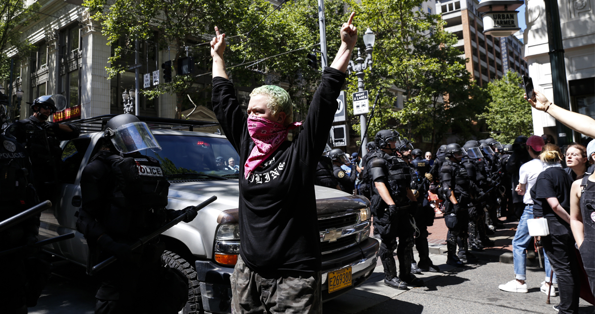 Trump is Very Worried About Alt-Right and Neo-Nazi Rally in Portland —
