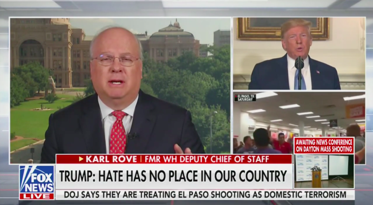 Karl Rove: Trump's Rhetoric on Race Has Been 'Raw and Dangerous' at Times