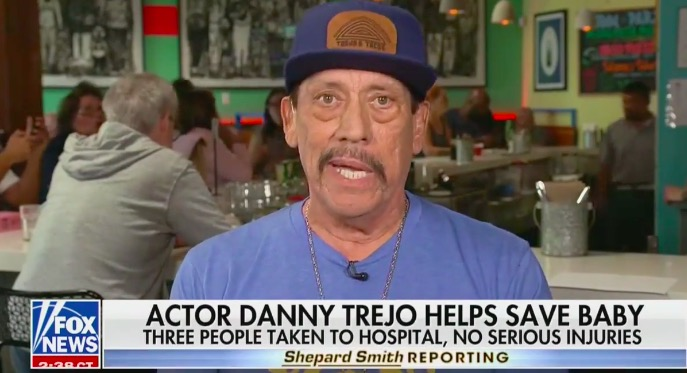 Danny Trejo Explains Heroic Rescue of a Baby in Hilarious, Heartwarming Interview With Shepard Smith