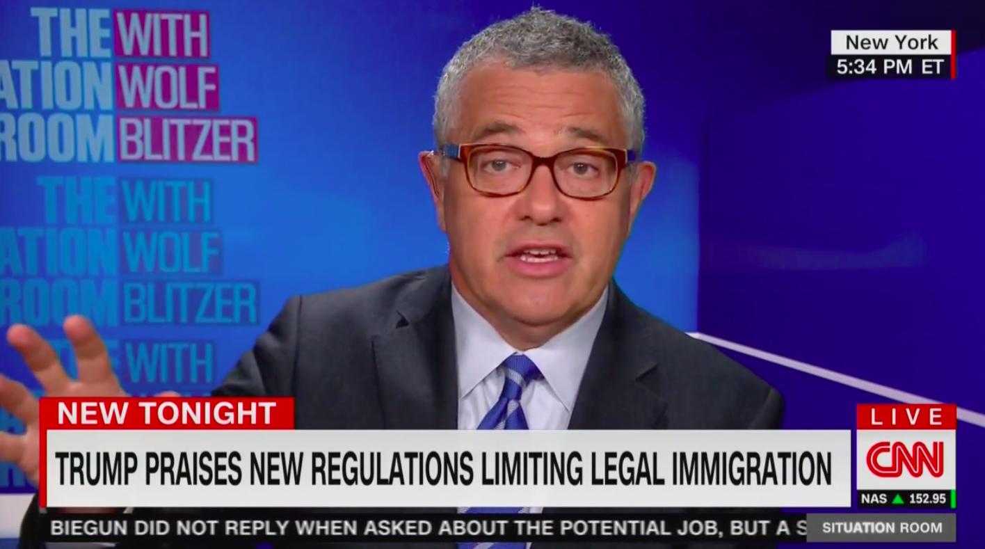 CNN's Jeffrey Toobin: Cuccinelli Twisting Statue of Liberty Poem to Attack Migrants is 'Un-American'