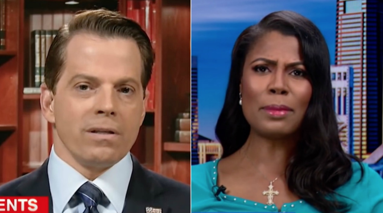 The Internet Hangs Its Head in Shame at MSNBC's Hardball Featuring Omarosa and Scaramucci